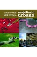 Papel ARQUITECTURA DEL PAISAJE MOBILIARIO URBANO (BILINGUE ES PAÑOL / PORTUGUES) (CARTONE)