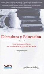 Libro Dictadura Y Educacion. Tomo 3