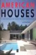 Libro Americans Houses