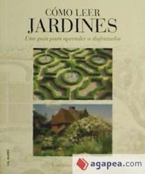 Libro Como Leer Jardines
