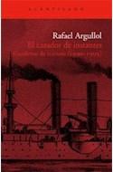 Papel CAZADOR DE INSTANTES CUADERNO DE TRAVESIA 1990-1995 (EL  ACANTILADO 149)