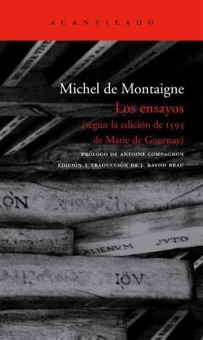 Papel Ensayos, Los (Segun La Edicion De 1595 De Marie De Gournay)