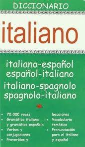 Papel Diccionario Italiano-Español / Español-Italiano