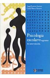 Papel PSICOLOGIA ESCOLAR (PROGRAMAS DE INTERVENCION)
