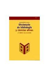 Papel DICCIONARIO DE BIBLIOLOGIA Y CIENCIAS AFINES