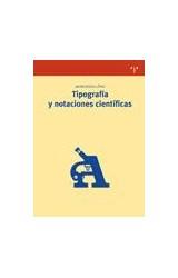 Papel Tipografía y notaciones científicas