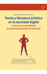 Papel TEORIA Y LITERATURA ARTISTICA EN LA SOCIEDAD