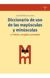 Papel DICCIONARIO DE USO DE LAS MAYUSCULAS Y MINUS