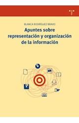Papel Apuntes sobre representación y organización de la información