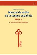 Papel MANUAL DE ESTILO DE LA LENGUA ESPAEOLA 5TA