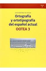 Papel ORTOGRAFIA Y ORTOTIPOGRAFIA DEL ESP ACT 3RA