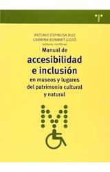 Papel MANUAL DE ACCESIBILIDAD E INCLUSION EN MUSEO