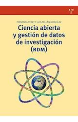 Papel CIENCIA ABIERTA Y GESTION DE DATOS DE INVESTIGACIO