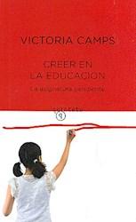 Papel Creer En La Educacion