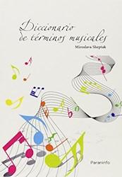 Libro Dicionario De Terminos Musicales