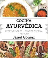 Libro Cocina Ayurvedica