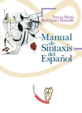 Papel Manual De Sintaxis Del Español