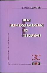 Papel LAS PREPOSICIONES EN ESPAÑOL