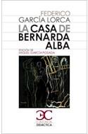 Papel CASA DE BERNARDA ALBA (DIDACTICA)