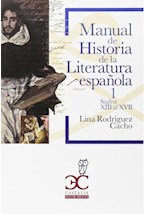 Papel MANUAL DE  HISTORIA DE LA LITERATURA ESPAÑOLA 1
