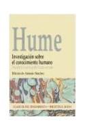 Papel INVESTIGACION SOBRE EL CONOCIMIENTO HUMANO (CLASICOS DE  L PENSAMIENTO)