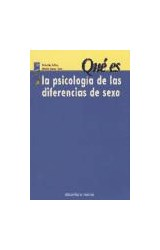 Papel QUE ES LA PSICOLOGIA DE LAS DIFERENCIAS DE SEXO (R) (2004)