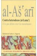 Papel CONTRA HETERODOXOS (AL-LUMA) (CLASICOS DEL PENSAMIENTO)  (RUSTICO)