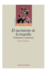 Papel NACIMIENTO DE LA TRAGEDIA O EL HELENISMO Y PESIMISMO