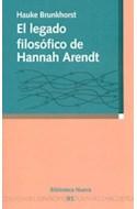 Papel LEGADO FILOSOFICO DE HANNAH ARENDT (RUSTICO)