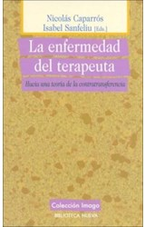 Papel ENFERMEDAD DEL TERAPEUTA. HACIA UNA TEORIA DE LA CONTRATR, L