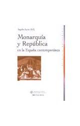 Papel Monarquía y república en la España contemporánea