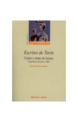 Papel ESCRITOS DE TURIN (CARTAS Y NOTAS DE LOCURA FRAGMENTOS POSTU