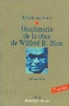 Papel DICCIONARIO DE LA OBRA DE WILFRED R. BION