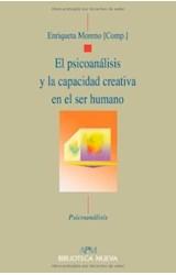Papel EL PSICOANALISIS Y LA CAPACIDAD CREATIVA EN EL SER HUMANO
