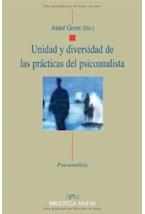 Papel UNIDAD Y DIVERSIDAD DE LAS PRACTICAS DEL PSICOANALISTA