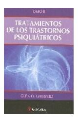 Papel TRATAMIENTOS DE LOS TRASTORNOS PSIQUIATRICOS T.2
