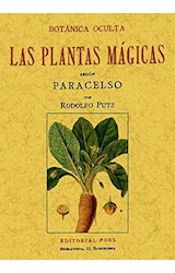 Papel Botánica Oculta. Las Plantas Mágicas
