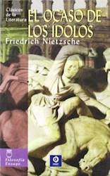 Libro El Ocaso De Los Idolos (Tb)