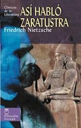 Libro Asi Hablo Zaratustra ( Tb )