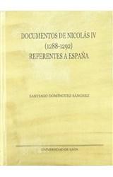 Papel DOCUMENTOS DE NICOLAS IV (1288-1292) REFEREN