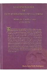 Papel LA CANCILLERIA DE FERNANDO DE LA CERDA