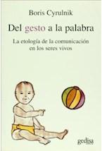 Papel DEL GESTO A LA PALABRA (ETOLOGIA DE LA COMUNICACION)