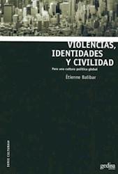 Papel Violencias Identidades Y Civilidad