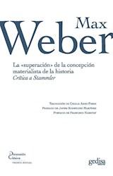Papel LA SUPERACION DE LA CONCEPCION MATERIALISTA DE LA HISTORIA