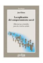 Papel LA EXPLICACION DEL COMPORTAMIENTO SOCIAL