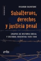 Papel Subalternos Derechos Y Justicia Penal