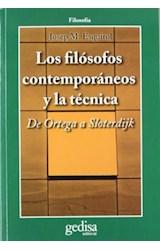 Papel LOS FILOSOFOS CONTEMPORANEOS Y LA TECNICA
