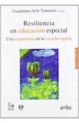 Papel RESILIENCIA EN EDUCACION ESPECIAL