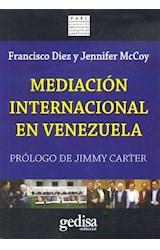 Papel MEDIACION INTERNACIONAL EN VENEZUELA