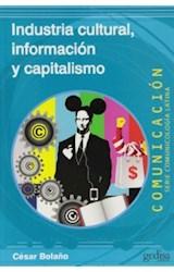 Papel INDUSTRIA CULTURAL, INFORMACION Y CAPITALISMO